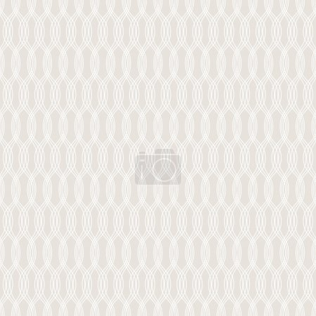 Illustration for Seamless vintage wallpaper pattern. - Royalty Free Image