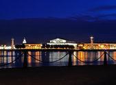 Spit of Vasilievsky Island (Saint-Petersburg, Russia)