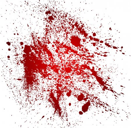 Abstract background with blood splatters...