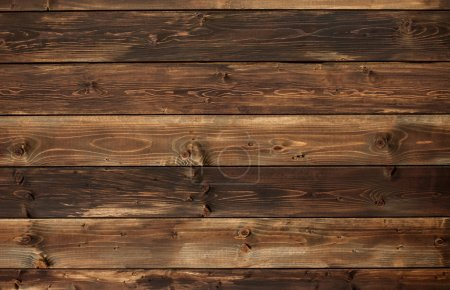 Photo for The brown old wood texture with knot - Royalty Free Image