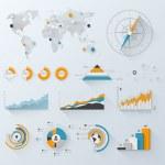 Design elements. Vector illustration of business i...