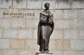 Statue of San Juan de la Cruz in Avila (Spain)
