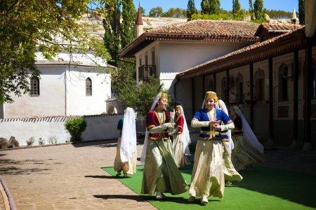 Tatar folklore dancers