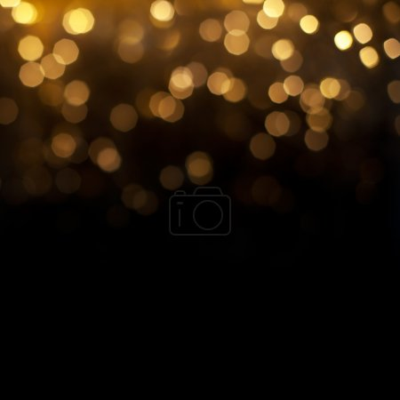 Realistic bokeh lights. Beautiful Christmas background.