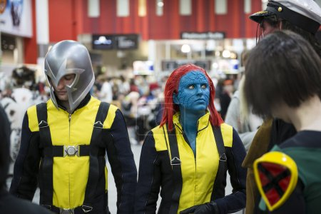 LONDON, UK - OCTOBER 27: Cosplayers impersonating ...