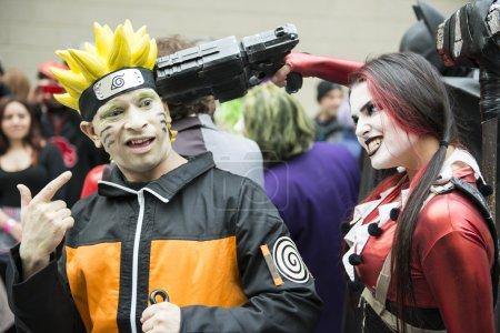 Harley Quinn and Naruto