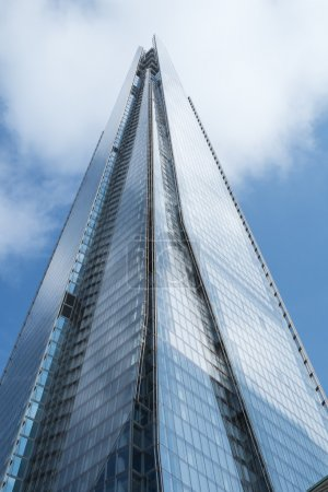 LONDON, UK - September 29: The Shard, the controversial landmark