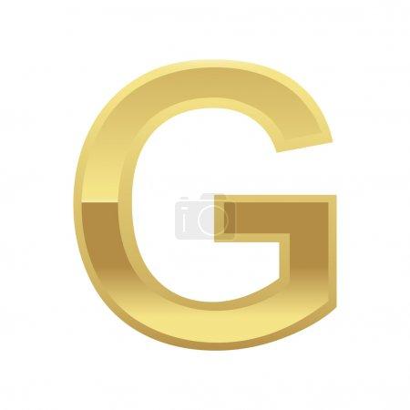 Golden Letter G