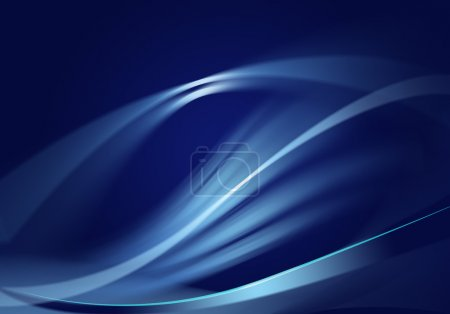 Illustration for Abstract dark blue background. - Royalty Free Image