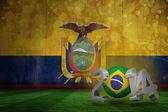 Složený obraz Brazílie mistrovství světa ve fotbale 2014