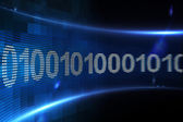 Binární kód na digitální displej