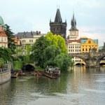 View over Charles Bridge, Prague