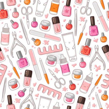 Manicure pattern