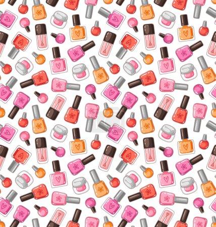 Nail polish pattern