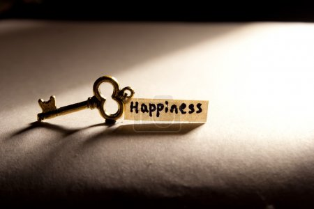 Photo for Key to Happiness - Royalty Free Image