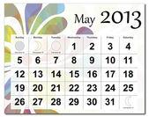 Mai 2013 Kalender