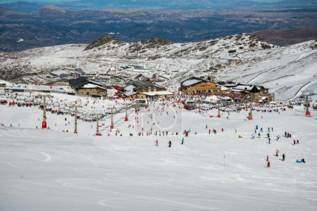 Sierra Nevada winter resort