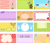 A Cute Collection of Vector Label