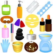 Beauty tools Spa Icons Relaxation Massage