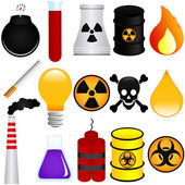 Dangerous Poison Explosive Chemical Pollution