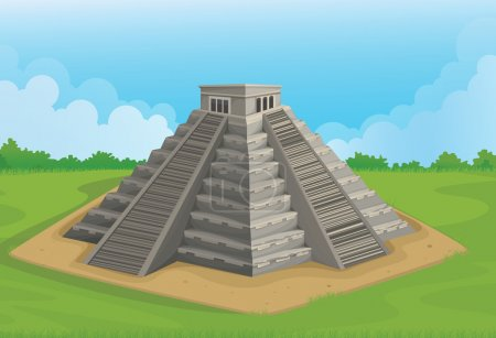 Pyramid of the sun, Chichen Itza