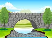 bridge made up of stones