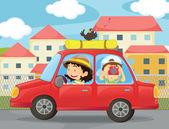 Děti a auta