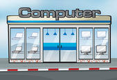 A computer shop