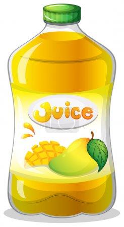 A bottle of juice