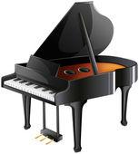 A musician's piano