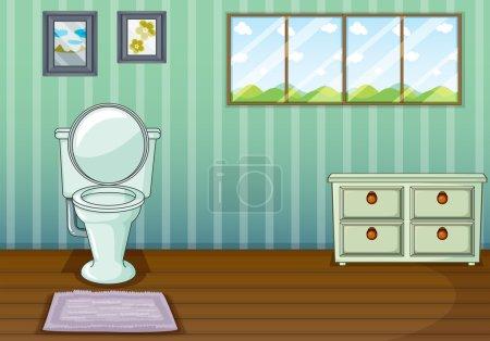 A clean comfort room