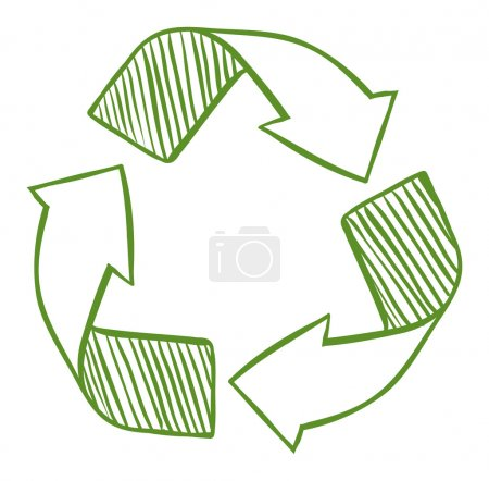 Recycle arrows