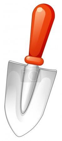 Ilustración de Balonlar beyaz bir arka planda tutan bir şirin litte kız resmi - Imagen libre de derechos