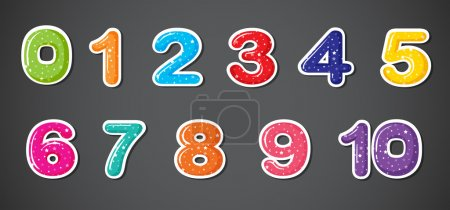 Eleven numerical figures