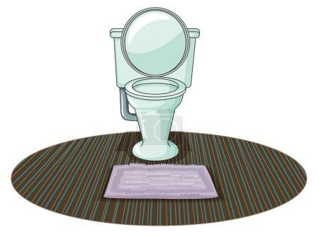 A toilet bowl