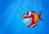 Strašidelné piranha pod mořem