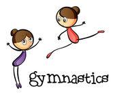 Dvě gymnastky