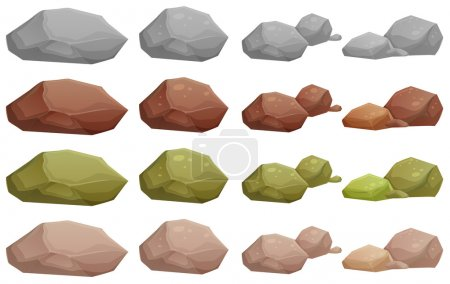 Different rocks