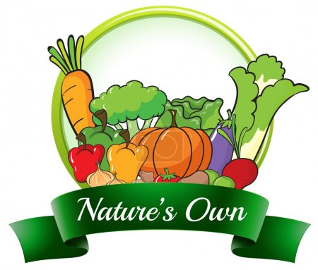 A nature's own label