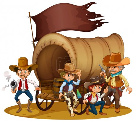 People from the wild West