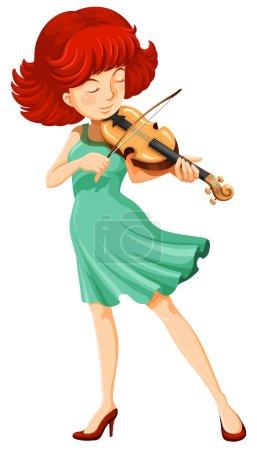 A female musician