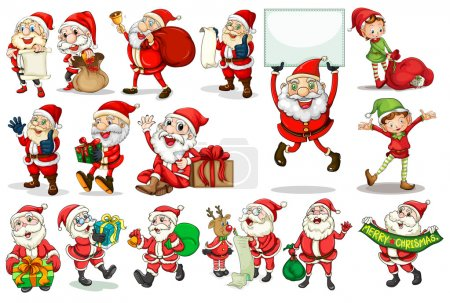 Santa actions