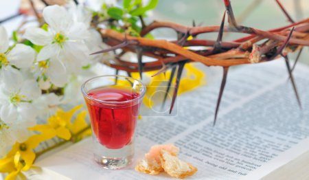 Photo for Taking Communion - Royalty Free Image