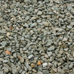Granite stone decorative chippings or aggregates u...