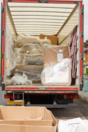 Removals van or truck