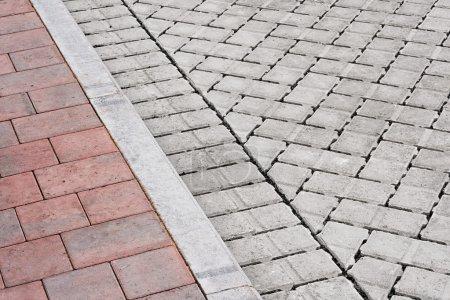 brick pavement and drive