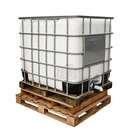 Industrial chemicals container