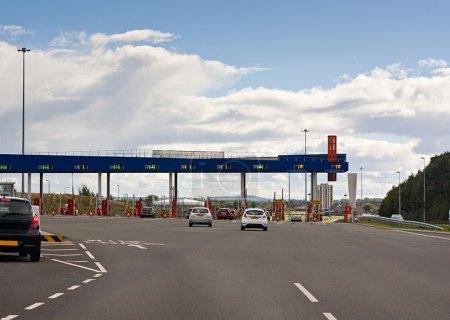 european road toll gate