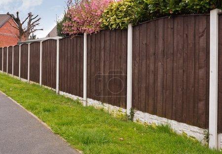 Panneaux de clôture à panneau fermé