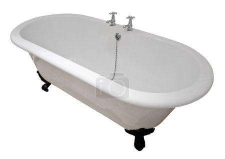 Victorian roll top bath tub